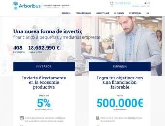 Arboribus, Plataforma de crowdlending